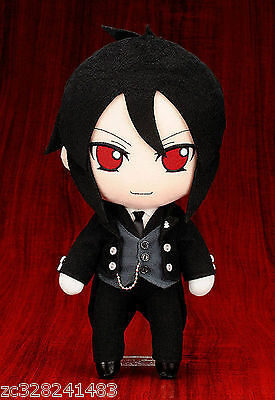 Anime Black Butler Kuroshitsuji Sebastian Michael Plush Toy Doll Figure Pillow