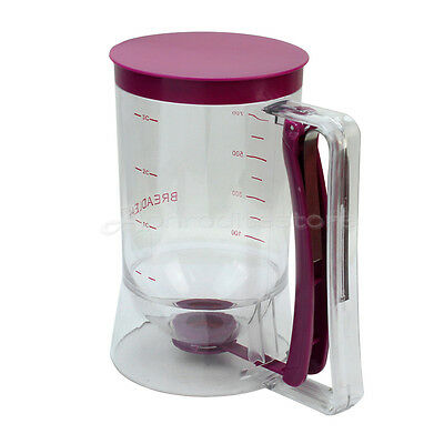900ml Pastry Maker Tools Batter Dispenser for Cupcakes Pancakes Muffins Waffles