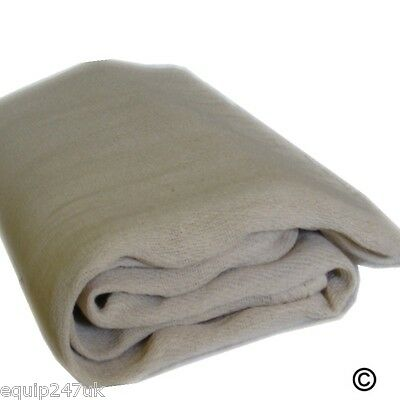 3 LARGE DUST SHEETS HEAVY DUTY COTTON TWILL 12 x 9ft DIY PROFESSIONAL DUST SHEET
