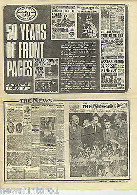 #t103.  The News Newspaper Supplement, 50 Years Of Front Pages 1973