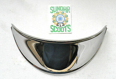 Headlight Peak.polished Stainless Steel.suitable For  Vespa Rally Scooters