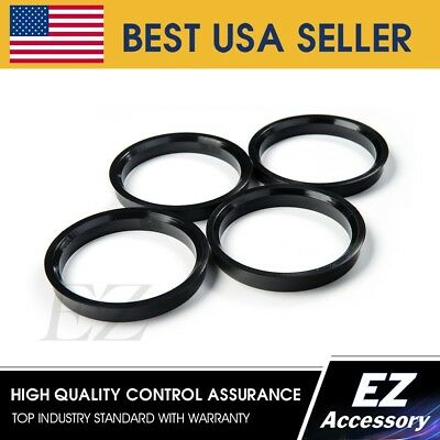Set of 4 78mm OD to 72.56mm ID Coyote Wheel Accessories 78-7256 Hub Centric Ring