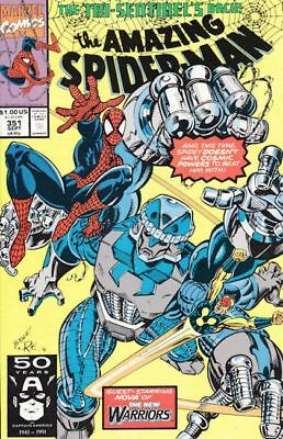 Amazing Spider-Man #351 Vf/nm