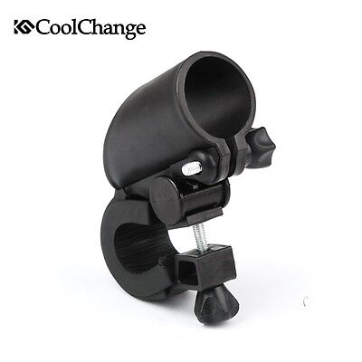 Cycling Bicycle Bike Mount Holder for LED Flashlight Torch Clip Clamp