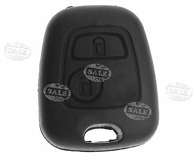 Replacement Of 2 Button Remote Key Fob Case Shell For Peugeot & Citroen C3 C4 C5