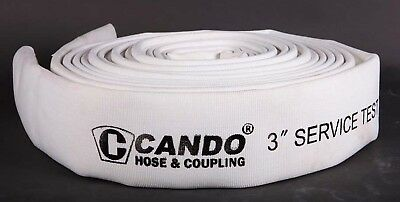 "3""x50' white Double jacket Municipal Fire Hose-EPDM rubber"