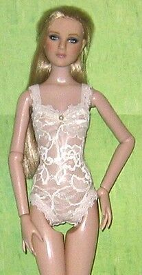 NEW Ready2Wear Sheer Ivory Lace Teddy Lingerie Outfit Fits Antoinette MSD