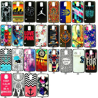 Hot Patterned Etui Housse Hard Back Coque Pour Samsung Galaxy S5 S6 Note 4