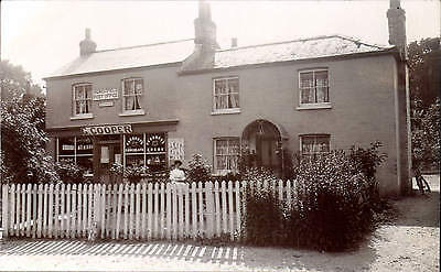 Burghfield near Reading. Post Office by Thatcher & Son, Tadley. G. Cooper Shop.