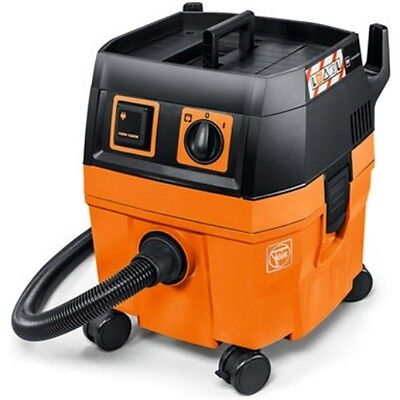 FEIN Dustex 25L Wet & Dry Dust Extractor 110v - Vacuum Cleaner - M Class Filter