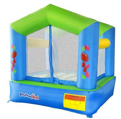 Bounceland Balloon Party Classic 6.5ft Bouncy Castle with Airflow Fan Blower
