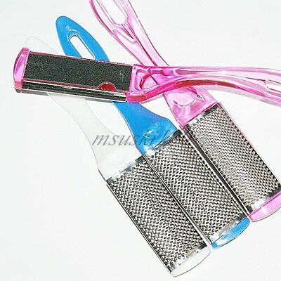 Foot File Rasp Callus Hard Dead Dry Skin Remover Scrubber Pedicure Tool 2 way