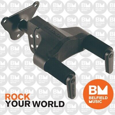 Hercules GSP39WB PLUS Guitar Wall Mount Stand Auto Grip Hanger Short Arm