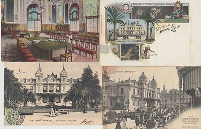 MONACO CASINO GAMBLING  94 Vintage Postcards Mostly pre-1940