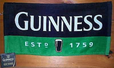 GUINNESS EXTRA STOUT 1759 WOVEN BEER BAR GOLF TOWEL NEW