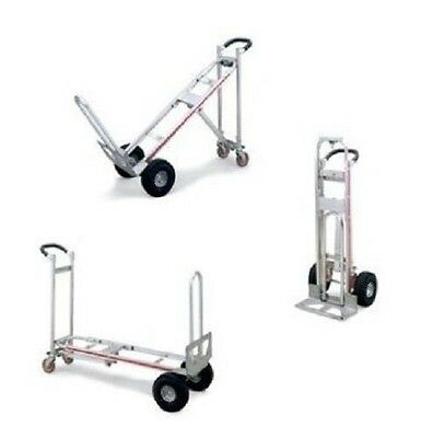 "One Magliner Aluminum 3-in-1 Hand Truck With 10"" Care Free Tires ( 3 Positions )"
