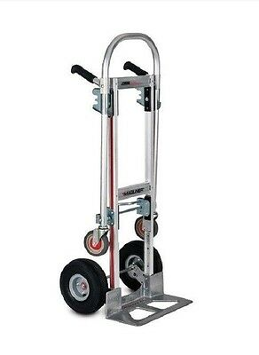 "Magliner Gemini Jr Convertible Hand Truck W/ 1010 tires  ""Never Goes Flat Tires"""
