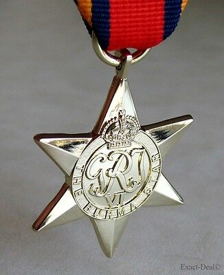 Canada Canadian - British & Commonwealth The Burma Star Campaign Medal WWII