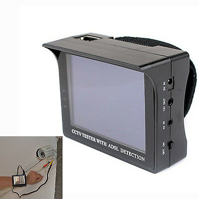 HD 3.5 inch TFT LCD Video Security Tester CCTV Camera Test Monitor FPV monitor