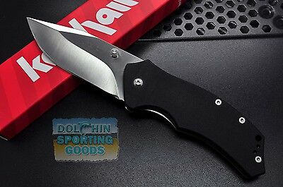 Kershaw Tension Liner Lock Folding Knife 1490 8CR13MOV Stainless Steel G10