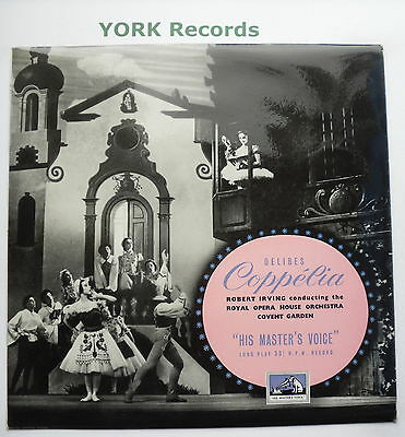 CLP 1046 - DELIBES - Coppelia IRVING Royal Opera House Orch - Ex Con LP Record