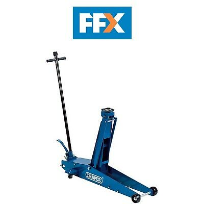 Draper 48349 2Ton Long Chassis High Lift Hydraulic Trolley Jack with Quick Lift