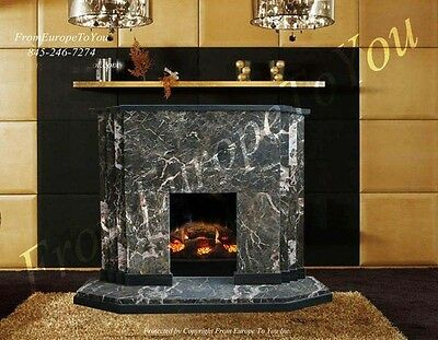 Nice Marble Art Deco Fireplace Mantel Mby156