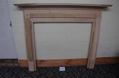 Wooden European Style Carved New Fireplace Mantel - S1
