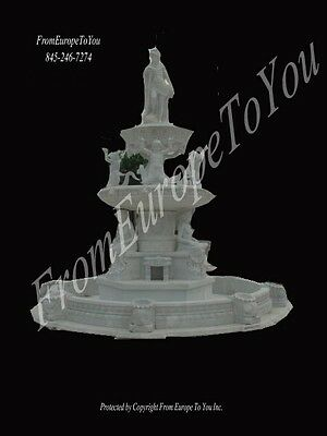 Monumental Hand Carved Museum Quality Fountain