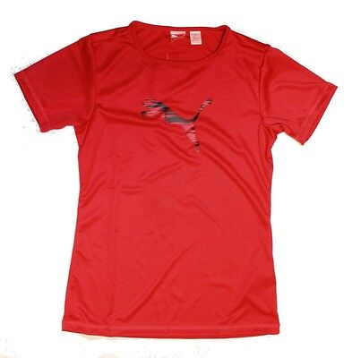 Puma Mädchen Sport Fitness T-Shirt ACTIVE MOVE Graphic Tee 1 pink