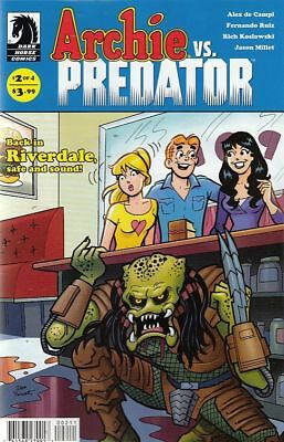 Archie Vs Predator #2. Main Cover (Dark Horse Comics) Boarded. Free Uk P+P! New!