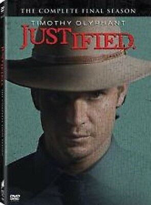 JUSTIFIED: The Complete Final Season 6 sixth  DVD **PRE SALE** Ships on 6/2/15