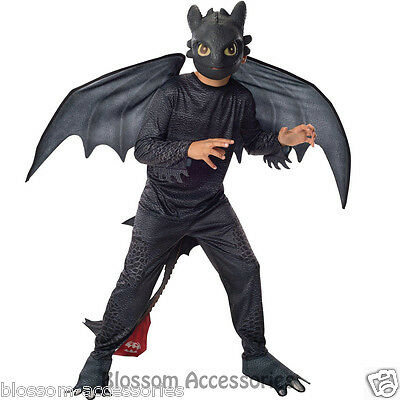 CK408 How to Train Your Dragon 2 Night Fury Toothless Kids Fancy Boys Costume