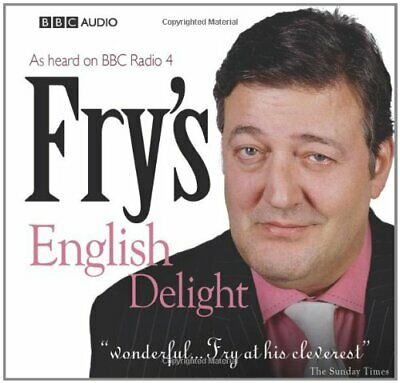 Fry's English Delight (BBC Audio) CD-Audio Book The Cheap Fast Free Post