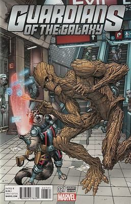 Guardians Of The Galaxy #27 Nyc Var Cover (Marvel Comics)