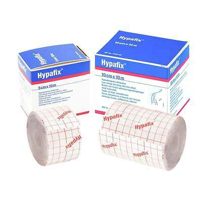 Hypafix Self Adhesive Dressing Retention Tape. 3 Sizes (2.5cm, 5cm or 10cm)