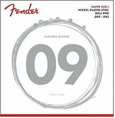 Fender 250L Nickel Plated Steel Electric Guitar Strings - Light