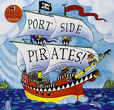 Port Side Pirates (A Barefoot Singalong) New Paperback Book Debbie Harter