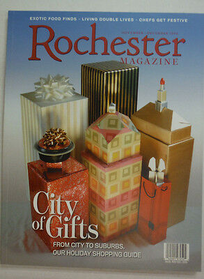 Rochester Magazine City Of Gifts City To Suburbs November/December 2006 052215R