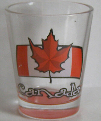 Canada Canadian Flag Shot Glass #8217