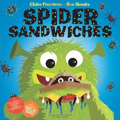 Spider Sandwiches New Paperback Book Sue Hendra