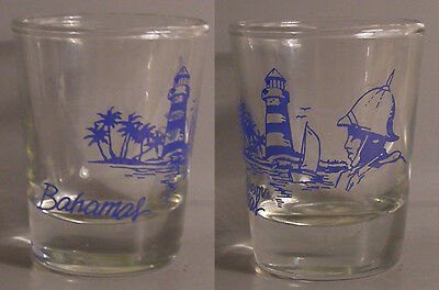 Bahama's Lighthouse ~ Guard Shot Glass # 7712