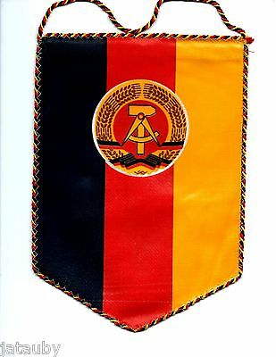 East German Wall Flag Banner Ddr Vintage Gdr New Old Stock Military Pennant