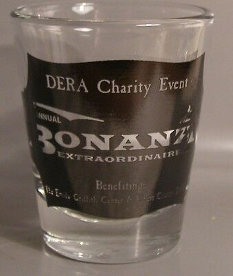 Bonanza Charity Event Shot Glass # 6282