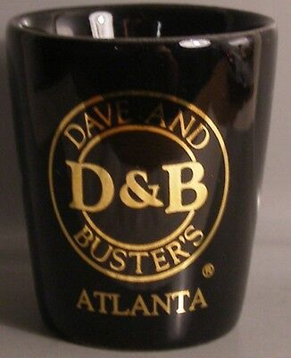 Dave & Busters Atlanta Shot Glass # 6270