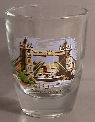 Tower Bridge Shot Glass # 6521