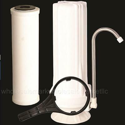 Counter top Ceramic Water Filter Home Purifier with Cartridge for Chlorine