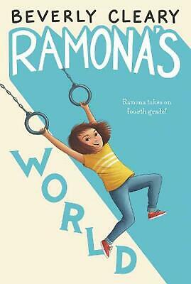 Ramona's World by Beverly Cleary (English) Hardcover Book Free Shipping!