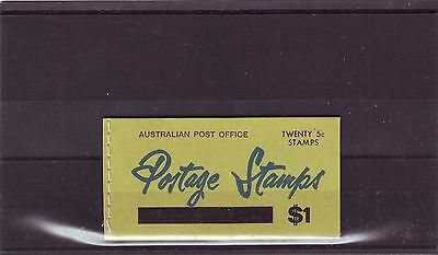 Australia - Sgsb41 Mnh 1967 $1 Booklet Surch - Green Cover