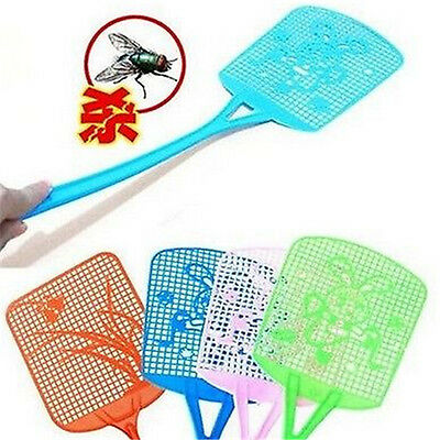 FD983 Bug Insect Fly Pest Mosquito Swatter Racket Handle Killer ~Random 1pc~ A